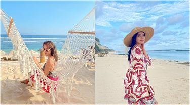 Sambut Era New Normal, Ini Gaya Santai 6 Seleb yang Liburan di Bali