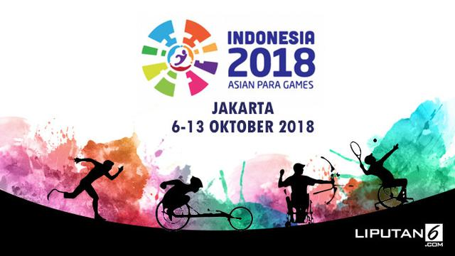 banner Asian Para games 2018