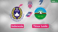 Jadwal Piala AFF 2018, Indonesia vs Timor Leste. (Bola.com/Dody Iryawan)
