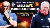 Prediksi Chelsea Vs Manchester United (Liputan6.com/Trie yas)