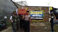 Surnah, korban ledakan dan kebakaran pabrik kembang api Tangerang siap dimakamkan (Liputan6.com/ Pramita Tristiawati)