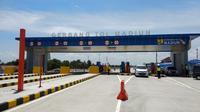 Proyek pembangunan Tol Trans Jawa. (Liputan6.com/Nafiysul Qodar)