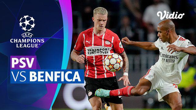 Berita video mini match leg kedua babak playoffs Liga Champions 2021/2022 antara PSV Eindhoven melawan Benfica yang berakhir dengan skor 0-0, Rabu (25/8/2021) dinihari WIB.