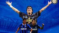 Inter Milan - Alexis Sanchez, Gary Medel, Ivan Zamorano (Bola.com/Adreanus Titus)
