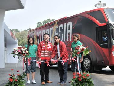 Resmi Diluncurkan, Begini Wujud Bus Baru Timnas Indonesia