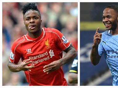 Persaingan dua klub elite Liga Inggris, meskipun bukan tim sekota, Liverpool dan Manchester City selalu terjadi di tiap musimnya. Kedua klub pun kerap dihuni para penyerang top yang sebagian bahkan pernah berseragam keduanya. Siapa saja kah pemain tersebut? (Kolase AFP)
