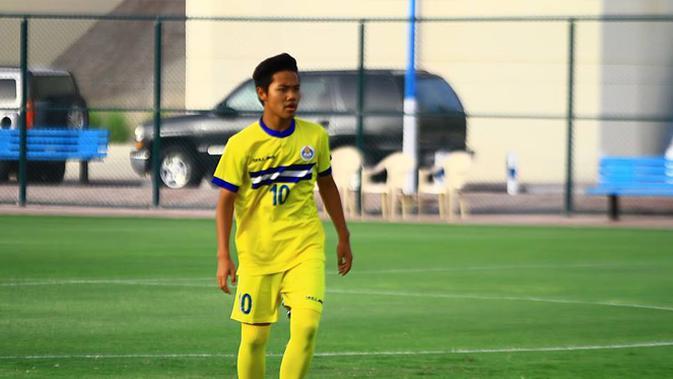 Wonderkid Indonesia Andri Syahputra tampil gemilang di laga pembuka Qatar Super League dengan mencetak 2 gol dan 1 assist saat timnya menang 5-1 (Facebook)