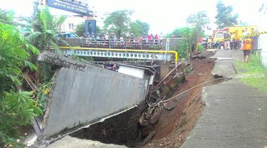 Lokasi longsor di Kota Bogor