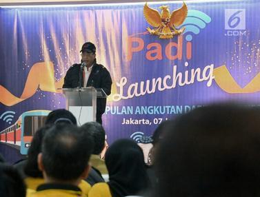 Menhub Budi Karya Hadiri Peluncuran Perkumpulan Angkutan Daring Indonesia
