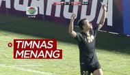 Berita video highlights kemenangan Timnas Indonesia atas Bali United 3-1 dalam laga uji coba yang digelar di Stadion Madya Senayan, Minggu (7/3/2021) malam hari WIB.