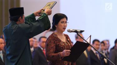 MA Lantik Destry Damayanti sebagai Deputi Gubernur Senior BI