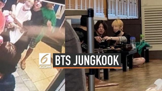 Agensi Big Hit Entertainment membantah isu personel BTS Jungkoook pacaran dengan wanita tak dikenal. Kabar ini bermula dari rekaman CCTV yang lokasinya tidak diketahui.