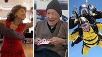 Tak kenal umur, kakek nenek ini masih saja aktif dan lincah dalam menyalurkan hobi dan bakat mereka. (Sumber: Guinness World Records)