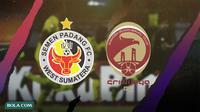 Klub yang sedang terpuruk di kasta bawah: Semen Padang dan Sriwijaya FC. (Bola.com/Dody Iryawan)