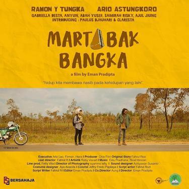 Poster film Martabak Bangka. (Foto: Instagram @hhengkii)