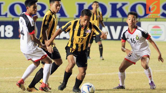 Piala AFF U-16 Malaysia Vs Brunei