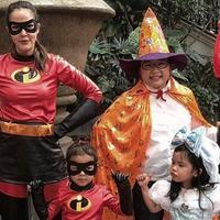 Cathy Sharon merayakan Halloween bersama anak-anaknya. (Instagram/cathysharon)