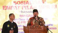 Ketua Badan Anggaran MPR RI Idris Laena.