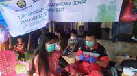 Tim Tanggap Darurat ANTAM di Kabupaten Mamuju.
