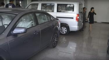 Begini Kondisi Dealer Mobil di Korea Utara