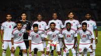 Timnas Uni Emirat Arab U-23 di Asian Games 2018. (Bola.com/Dok. INASGOC)