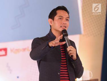 Dude Harlino Bagi Inspirasi Bisnis di EGTC 2018 Bandung