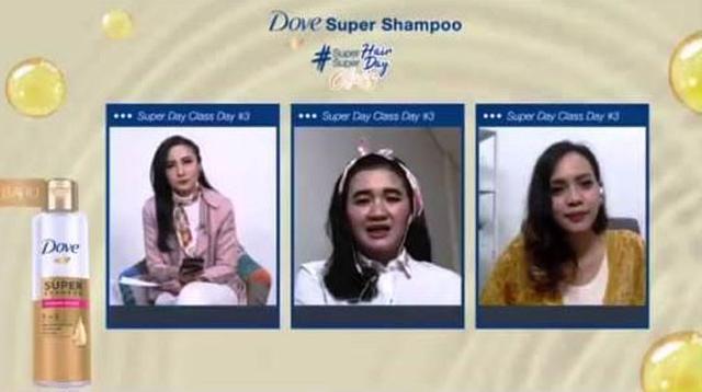 Webinar Dove Super Class Ketiga #SuperHairSuperDayClass with Fimela.com