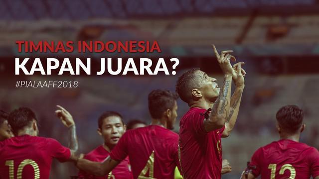 """Berita video Cover Story menjelang Piala AFF 2018 dengan pertanyaan besar """"Timnas Indonesia kapan juara?"""". Apakah pertanyaan ini bisa terjawab pada Piala AFF edisi 2018?"""