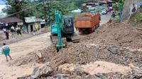 Badan Nasional Pengendalian Bencana (BNPB) mencatat kejadian bencana banjir dan tanah longsor di wilayah Sumatera Utara (Sumut) pada awal Juli 2020.