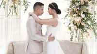 Resepsi Pernikahan Kevin Liliana-Oskar Mahendra. (dok.Instagram @weddingmarket_id/https://www.instagram.com/p/B8Gb5GqgaAe/Henry)