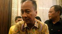 Mensos pastikan logistik siap 100 persen untuk korban gempa Banten (Liputan6.com/ Switzy Sabandar)