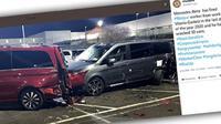 Mantan Karyawan Mercedes-Benz Hancurkan 50 Unit Mobil di Pabrik (Carscoops)