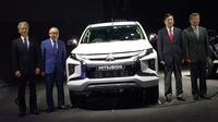 Peluncuran global New Mitsubishi Triton dilakukan di Bangkok, Thailand, Jumat (9/11/2018). (Septian/Liputan6.com)