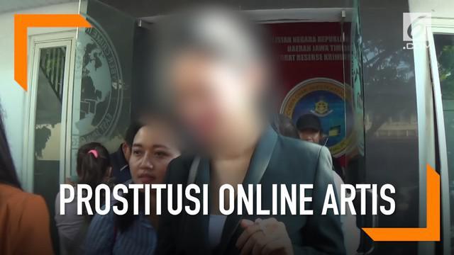 Setelah diperiksa polisi terkait prostitusi online artis, D-P dan kuasa hukumnya mengaku lega dan merasa muncikari mencatut namanya.