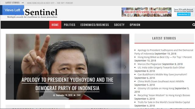 5 Fakta Tentang Asia Sentinel, Media yang Bikin Geram SBY