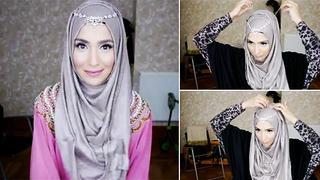 Tutorial Hijab Pesta Terbaru Berita Foto Video Fimela Com