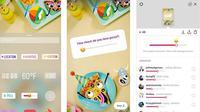 Stiker emoji slider di Instagram Stories (Foto: screenshot via Tech Crunch)