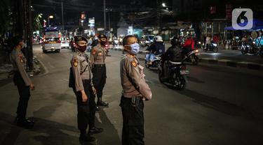 FOTO: Jalan KH Mas Mansyur Sepi dari Takbir Keliling