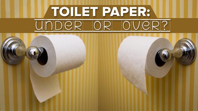 Cara menggantung tisu toilet ternyata bisa memprediksi kepribadian seseorang. Itulah yang dipelajari seorang terapis televisi Dr Gilda Carle