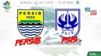 Liga 1 2018 Persib Bandung Vs PSIS Semarang (Bola.com/Adreanus Titus)