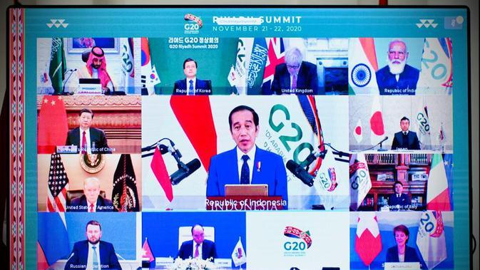 3 Hal yang Disampaikan Jokowi pada Hari Kedua KTT G-20