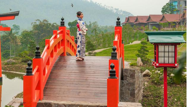 5 Tempat Wisata Bernuansa Jepang Di Jawa Timur Liburan Makin Seru Surabaya Liputan6 Com
