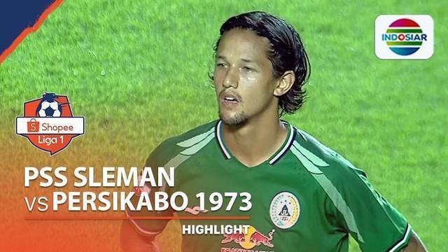 Berita video highlights Shopee Liga 1 2020, PSS vs Persikabo 1973 yang berakhir dengan skor 0-0, Minggu (8/3/2020).