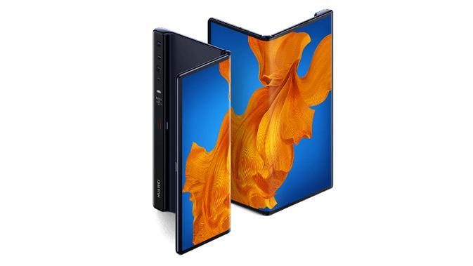 Tampilan Huawei Mate Xs yang baru diperkenalkan (sumber: Huawei)