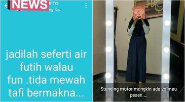 7 Status Nyeleneh WhatsApp Typo, Sampai Cermin Dibilang Motor