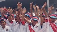 Demi mewujudkan masa depan sehat dan agar anak-anak Indonesia terbebas dari penyakit sehingga bisa meraih mimpi