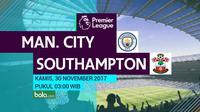 Premier League_Manchester City Vs Southampton (Bola.com/Adreanus Titus)