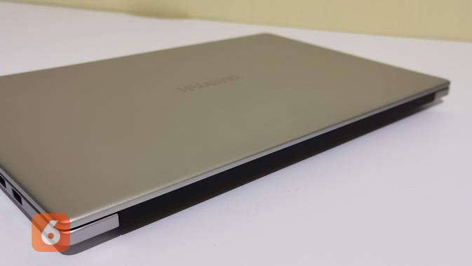 Huawei MateBook D15 memiliki ketebalan 16,9mm. (Liputan6.com/ Agustin Setyo W)