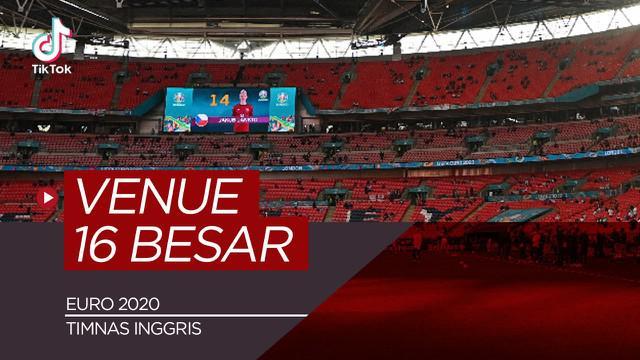 Berita video TikTok Bola.com tentang dereta stadion untuk 16 Besar Euro 2020, Timnas Inggris hadapi Jerman di Wembley.