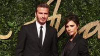 Bukan hanya sederet aktris dan aktor hollywood yang memberi ucapan serta doa untuk dirinya. Sang suami, David Beckham pun tak ingin ketinggalan melewati momen kebahagiaan tersebut. (AFP/Bintang.com)